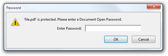 document open password
