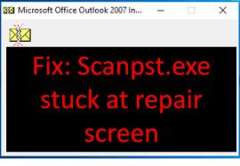 Scanpst Not Responding After Clicking Repair: Fix Outlook