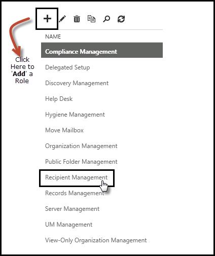 Compliance Management Exchange 2016
