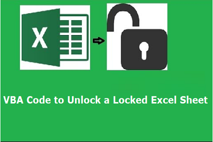 unlock a vba password protected excel file