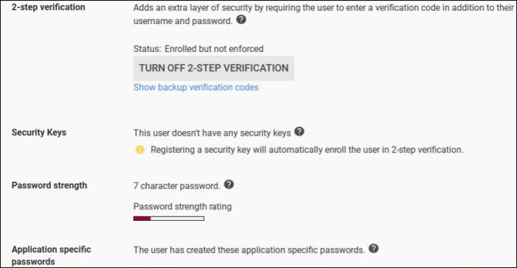 turn-off two-step authentication