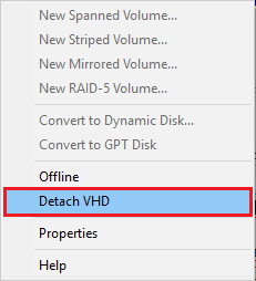 Mount and Unmount A VHD / VHDX File in Windows Explorer