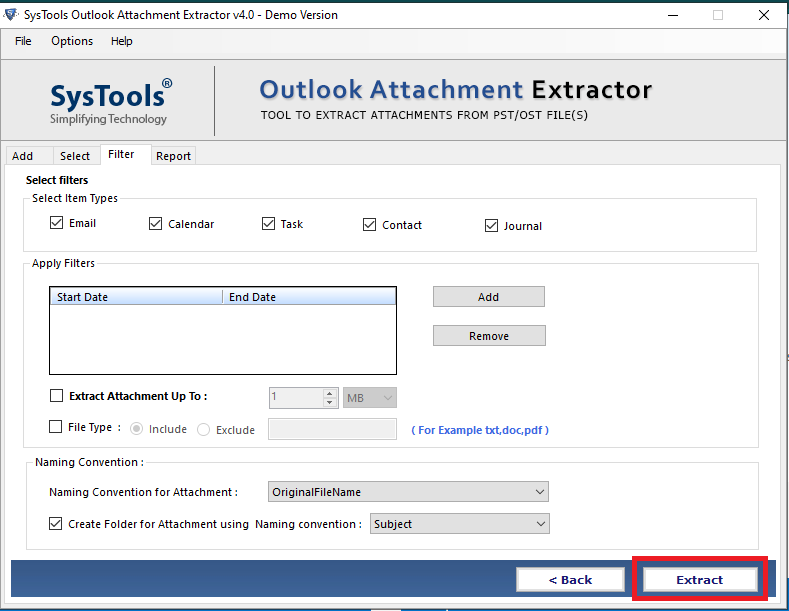 outlook pst attachment extractor