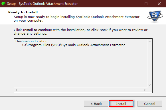 Outlook Email Attachment Downloader install