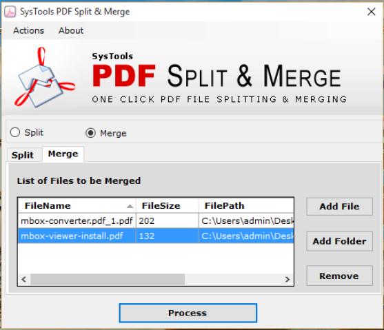 click process