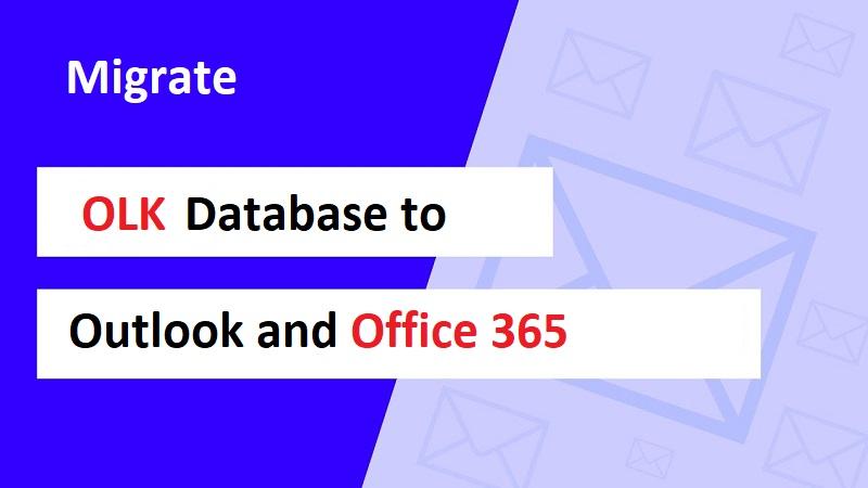 Mac Outlook OLK to Office 365 manually