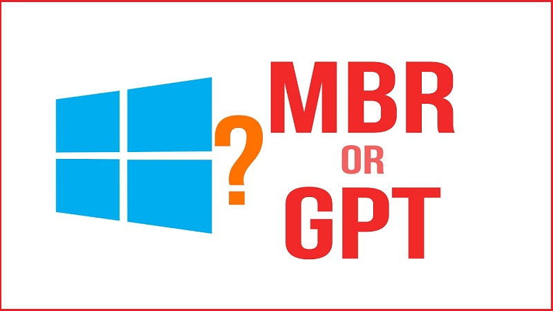 is partition gpt or mbr