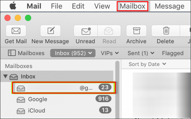 set up Apple Mail in Outlook