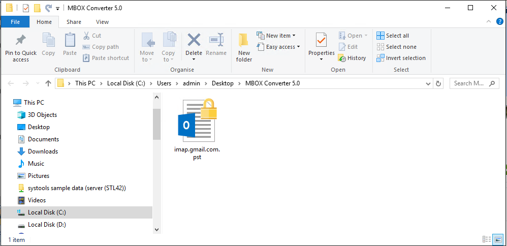 apple mail in outlook 2016