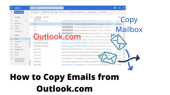 How To Copy Emails From Outlook Com To Pc Computer Laptop Technical Blog