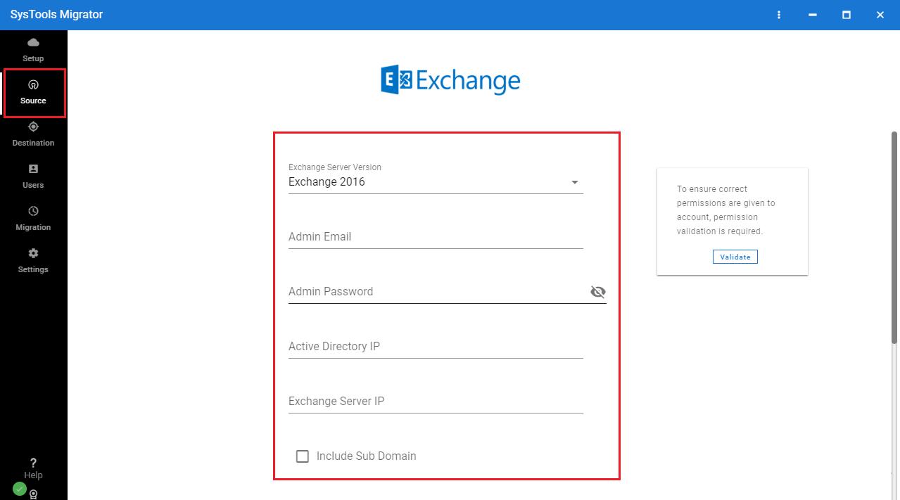 Exchange Details
