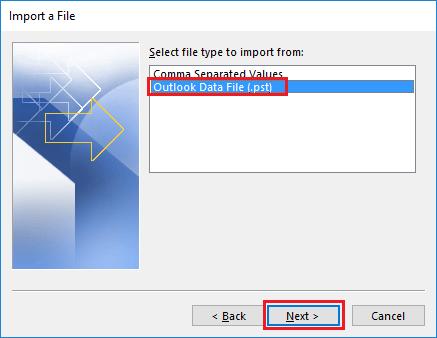 combine pst files