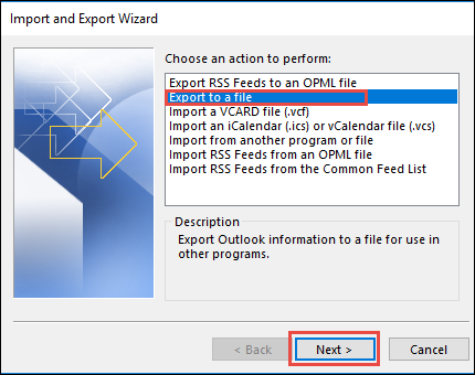 how to export Outlook Contacts to iPhone x