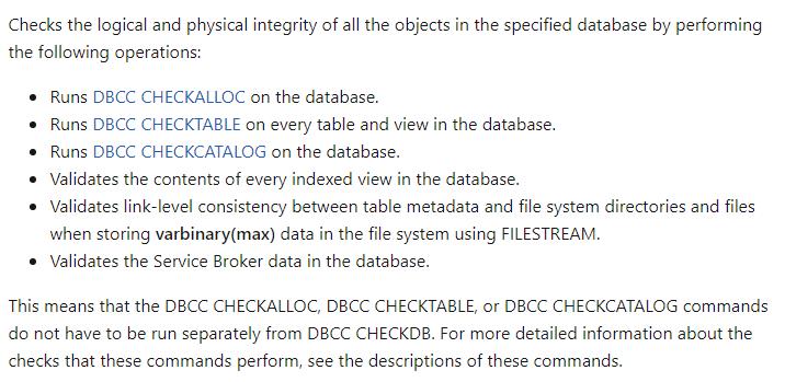 microsoft explains how to check metadata corruption