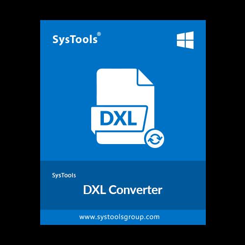 Convert DXL to PST Free