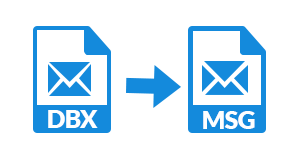 dbx to msg converter software