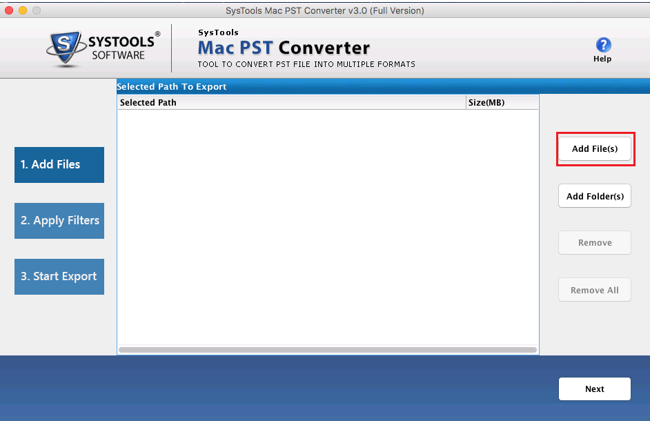 how to export pst to mbox on mac