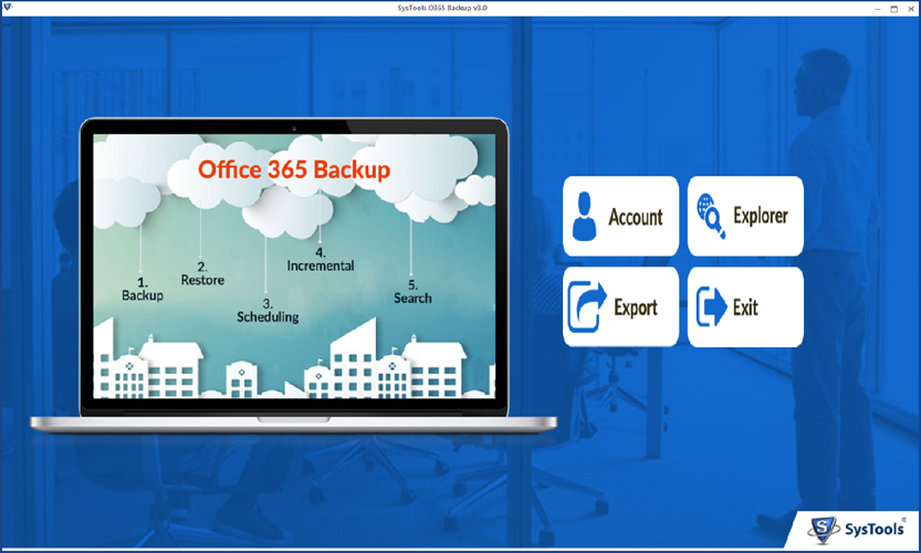 steps to backup office 365 emails