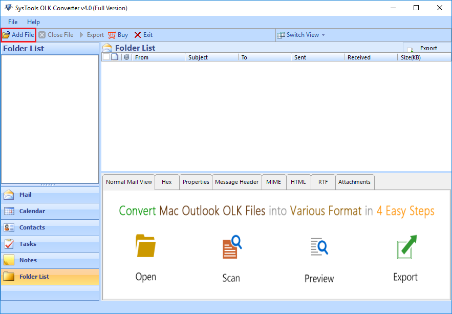 download olk15message file converter