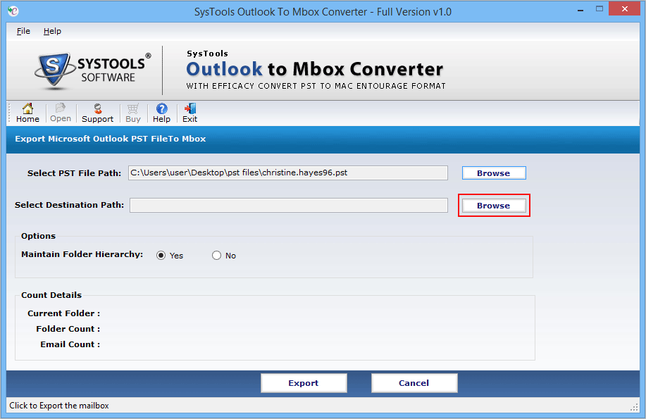 online outlook pst to pocomail