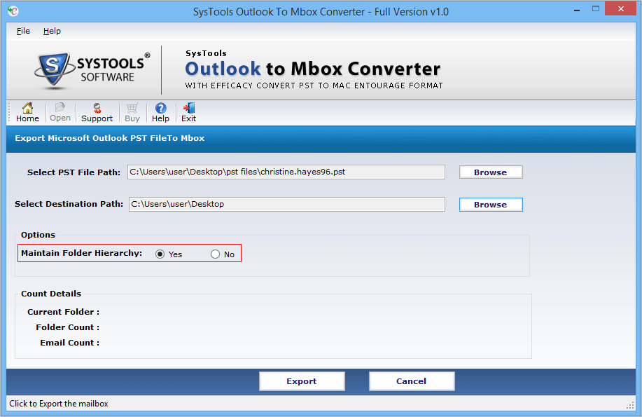 convert pst email to mbox online
