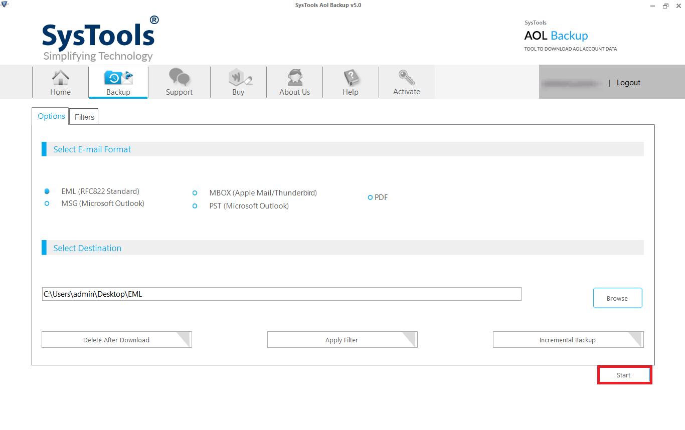 best aol backup software