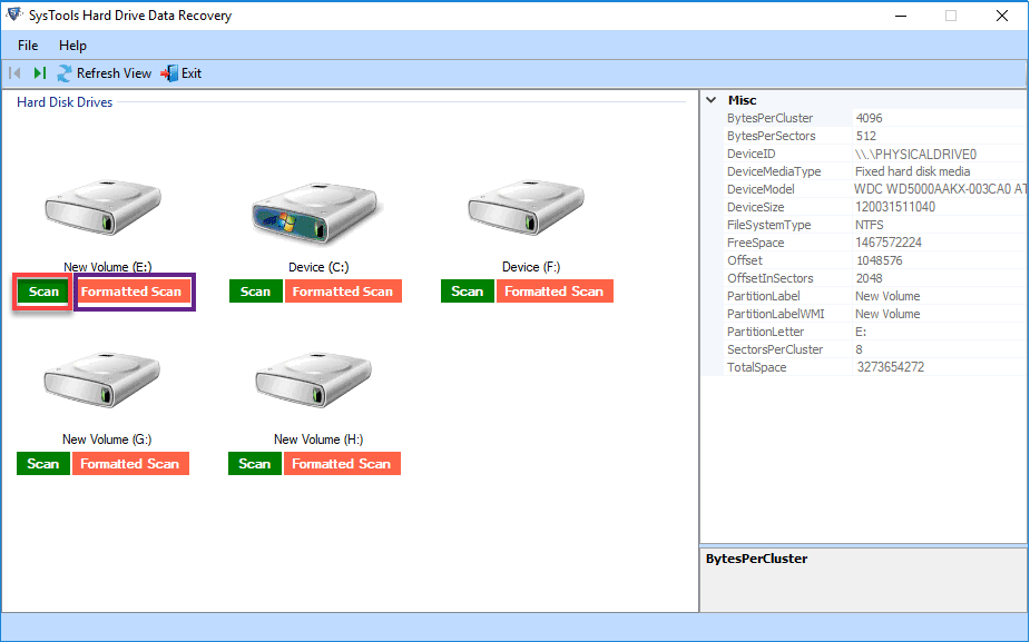recover manually for free